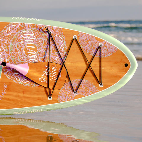 Image of BELLASOL - 10'6 GYPSEA SUP & CARBON FIBER PADDLE - Bellasol Boards