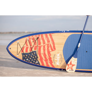MALAKAI - 11'6 OLD GLORY SUP & CARBON FIBER PADDLE