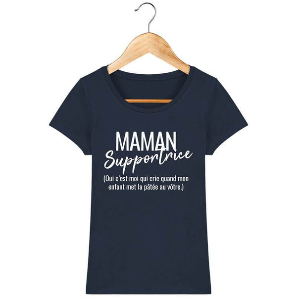 T-Shirt Femme - Maman Supportrice