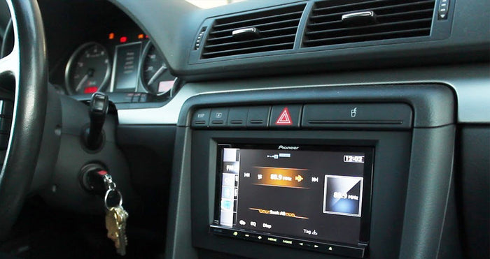 Audi A4 B6 2002-2008 Aftermarket Stereo Install