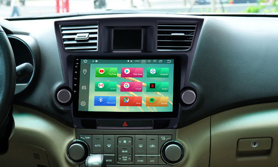 How to Install Toyota Highlander Car DVD Player Navigation