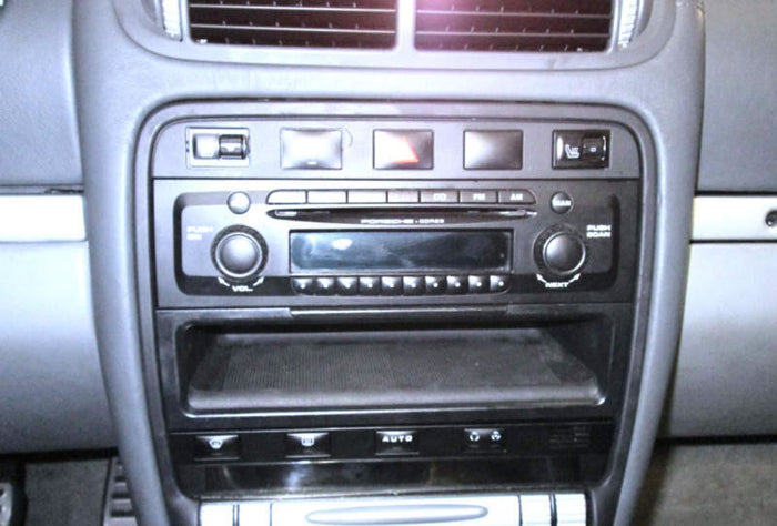 How to Remove Porsche Cayenne Radio / CD