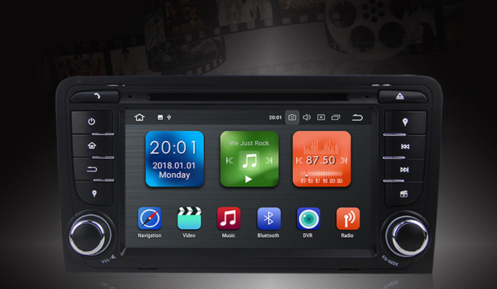 2002-2007 AUDI A3 S3 Android Car Stereo