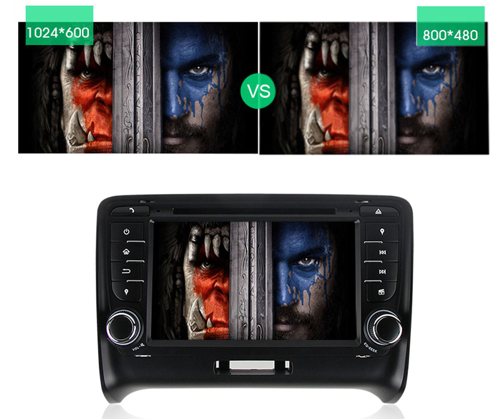 2006-2012 Audi TT Android 8.0 Car Stereo