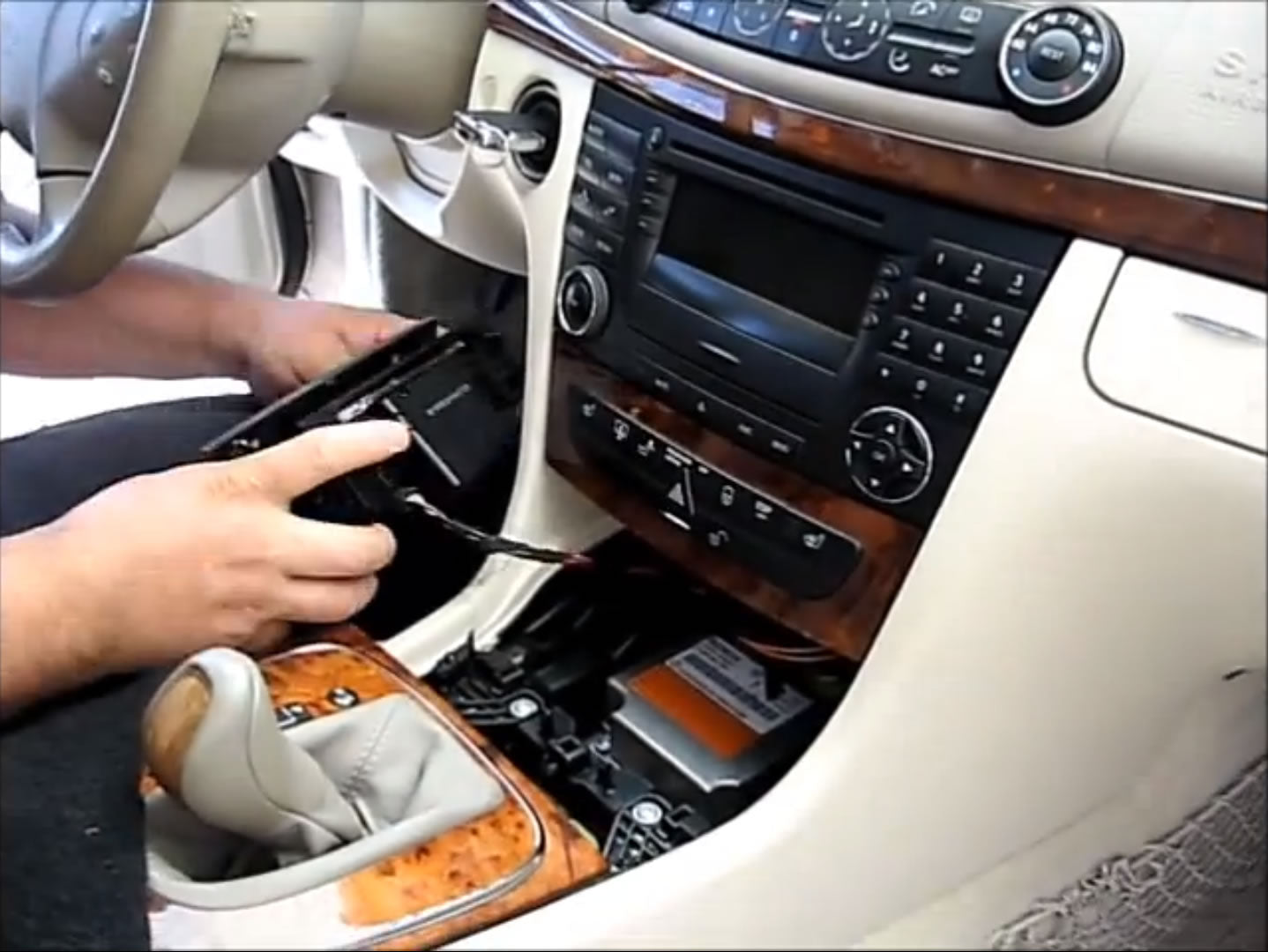 How to Install Car Stereo for 2002-2009 Mercedes-Benz E-Class