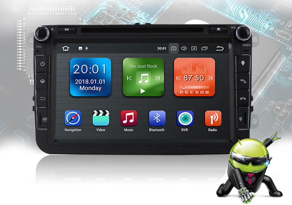 Volkswagen Android 8 Car Stereo