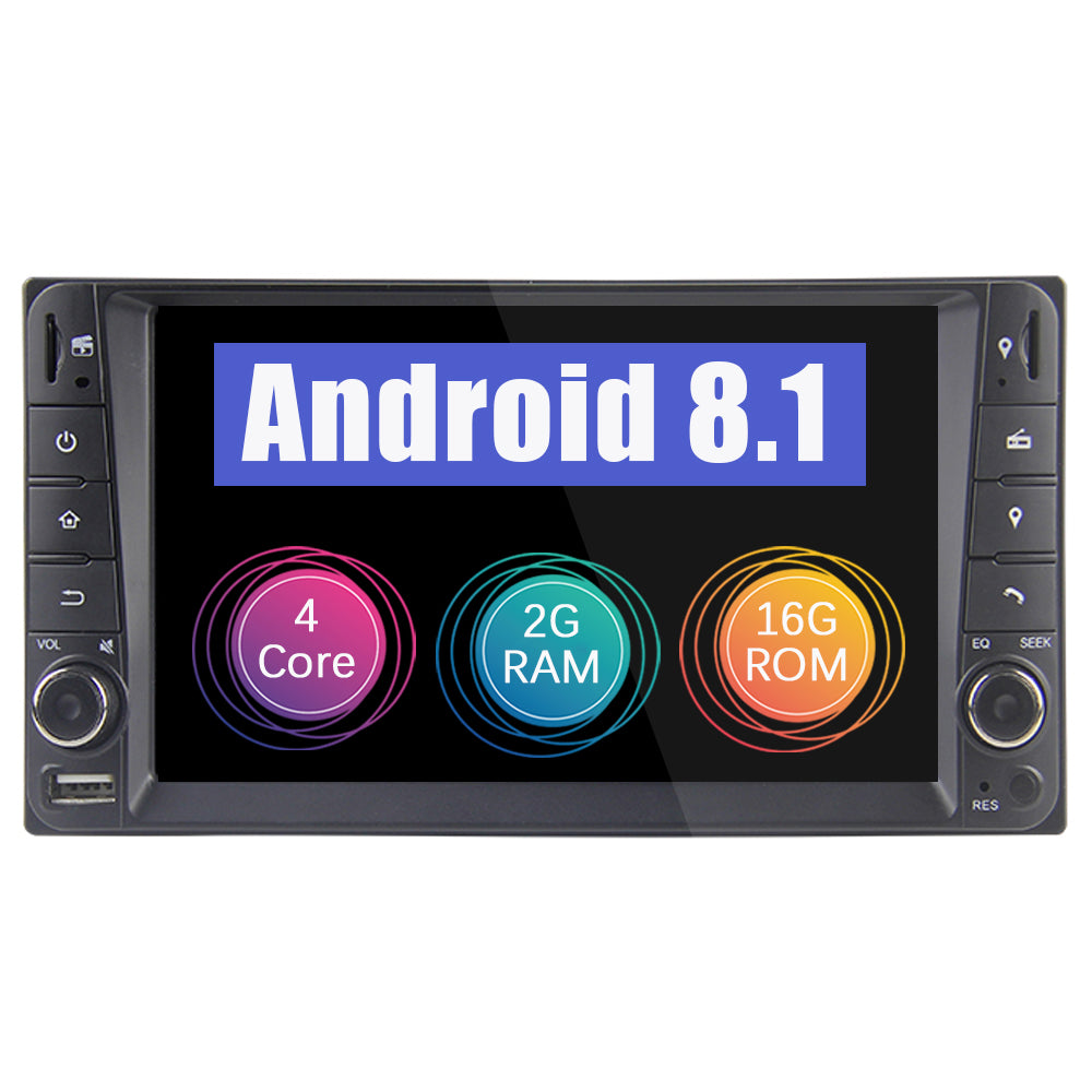 2000-2011 Toyota Corolla 2 Din Android 8.1 Car Stereo
