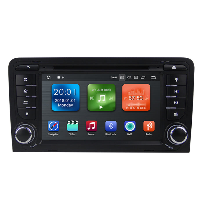 2003-2013 AUDI A3 S3 Android 8.0 Car Stereo