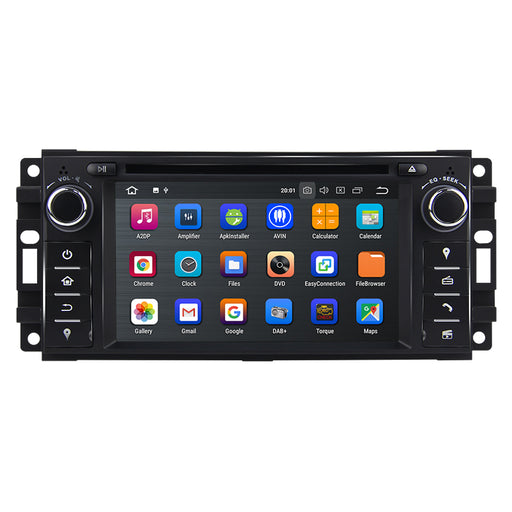 2010 Jeep Wrangler Android Car Stereo