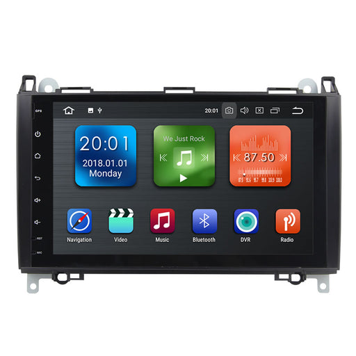 2004-2011 Mercedes Benz B200 Android 8.0 Car Stereo