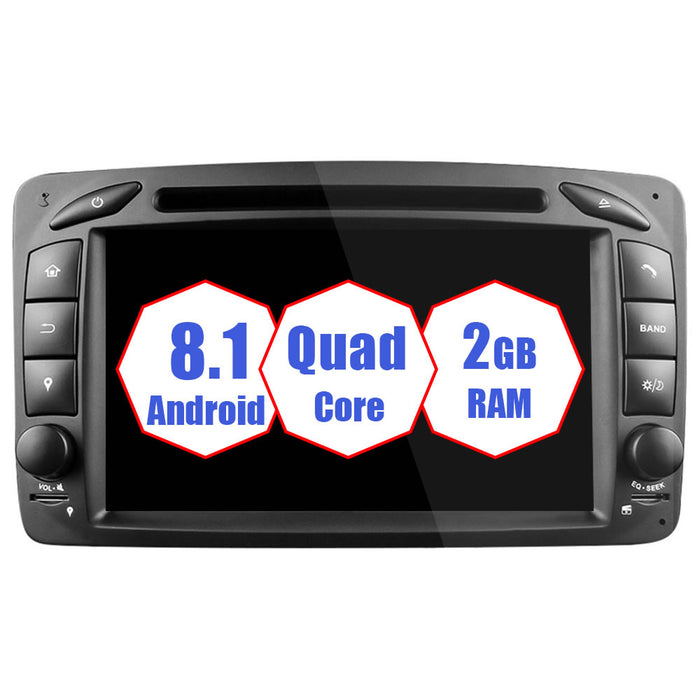 Mercedes Benz C-class W203 Android Car Stereo