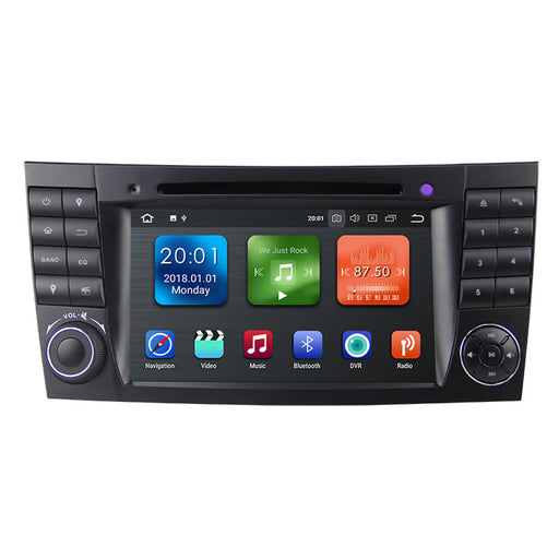 2002-2009 Mercedes Benz E-class W212 Android Car Stereo