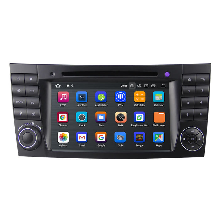 Mercedes Benz E-class W212 Android Car Stereo