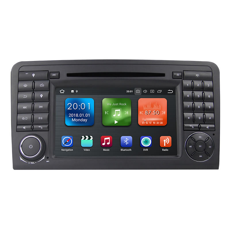 Mercedes Benz ML-class Android Car Stereo