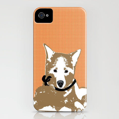 Akita Dog on Phone Case