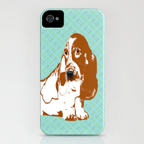 Basset Hound Dog on Phone Case