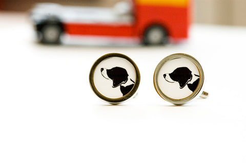 Beagle dog on your cufflinks