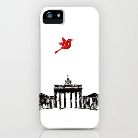 Brandenburg Gate from Berlin City on your Phone Case