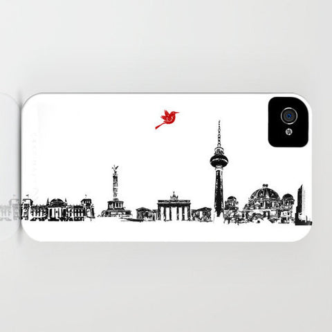 Berlin City Skyline On Phone Case