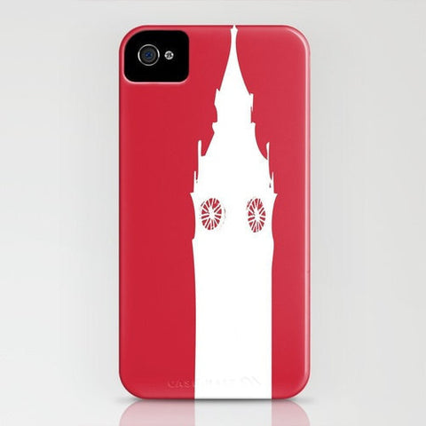 Big Ben On Red Phone Case