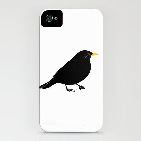 Black Bird on Phone Case