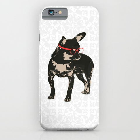 Black Tan Chihuahua phone case