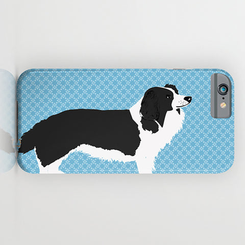 Border Collie Dog On Phone Case