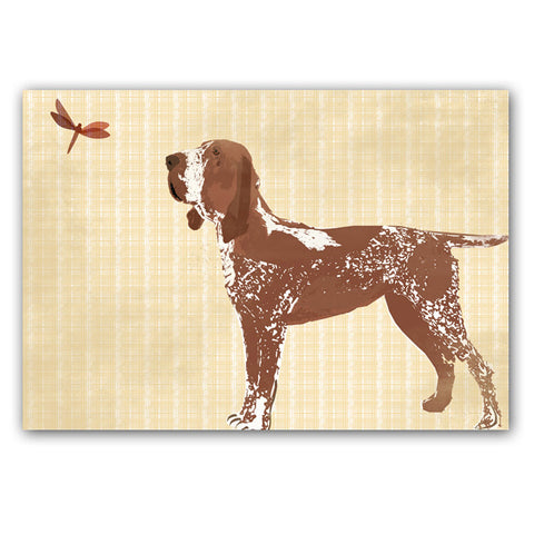 Bracco Italiano Dog Art - Fine art print, Bracco Italiano Dog, hound, hunting dog, Italian Pointer