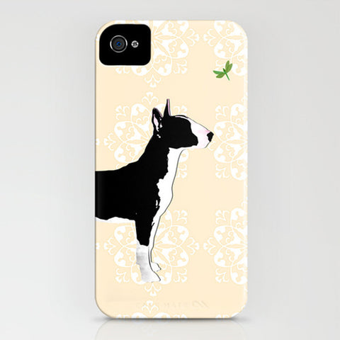 English Bull Terrier Dog on Phone Case