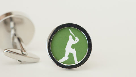 Cricketer Cufflinks