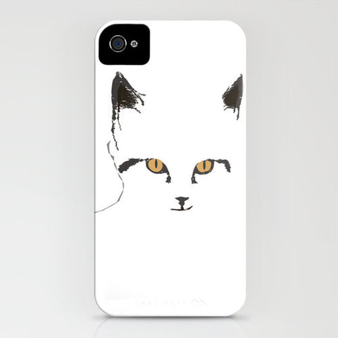 Cat's Sketch on Phone Case