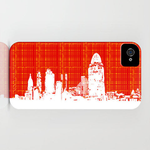 Cincinnati, OH skyline on Phone Case