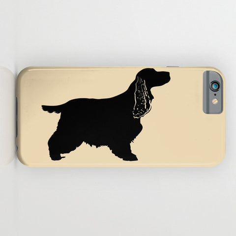 Cocker Spaniel Dog on Phone Case