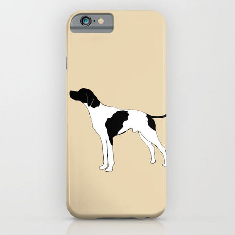 English Pointer Dog On Phone Case