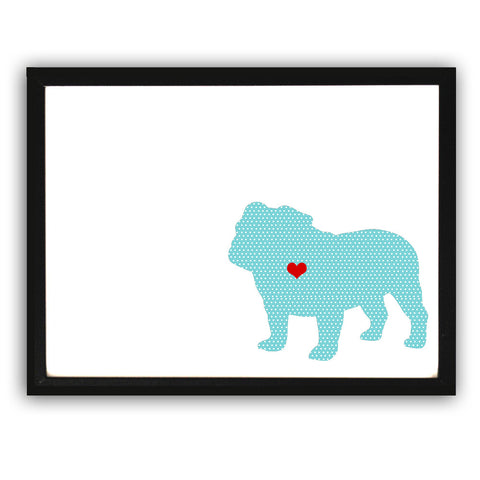 English Bull Dog Art Print