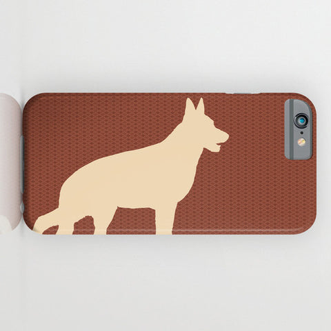 German Shepherd Dog on Phone Case