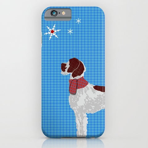 German WireHaired Pointer Dog on Phone Case