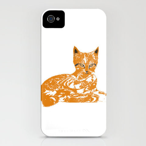 Ginger Cat on your phone case