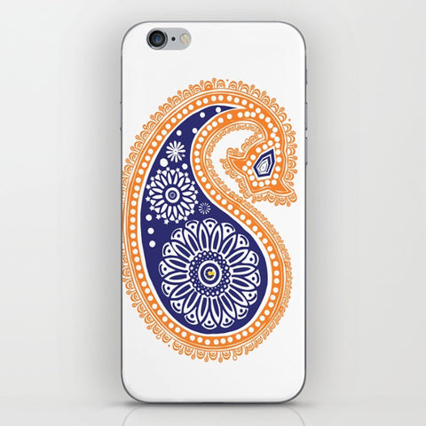Henna Design On Phone Case