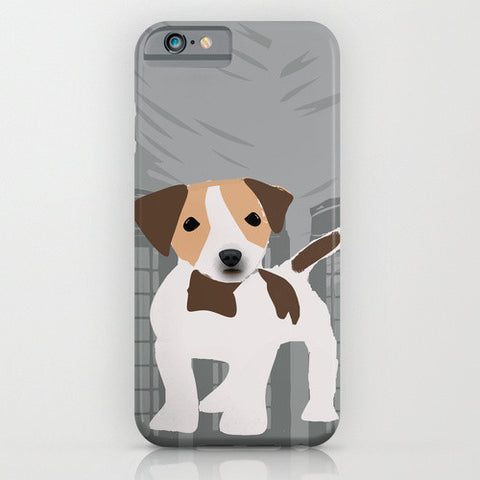 Jack Russell Dog on Phone Case