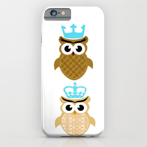 King and Queen Owls on Phone case