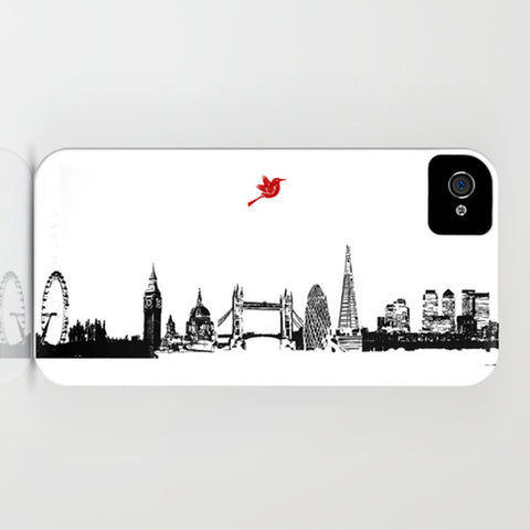 London City Skyline On Phone Case