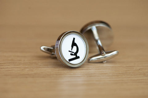 Microscope Cufflinks