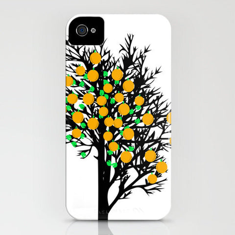 Orange Tree On Phone Case