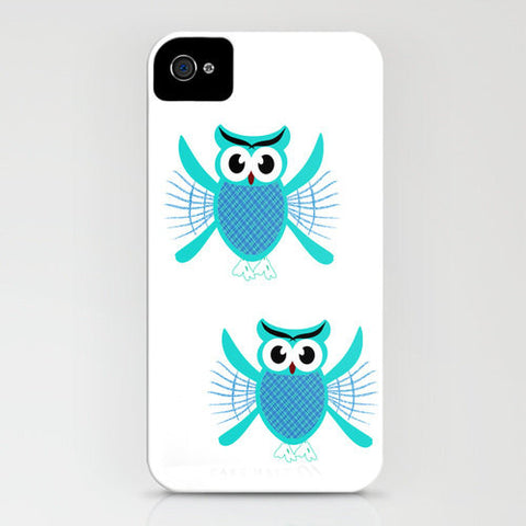 Baby Owls Flying On Phone Case