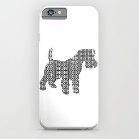 Schnauzer Dog on Phone Case