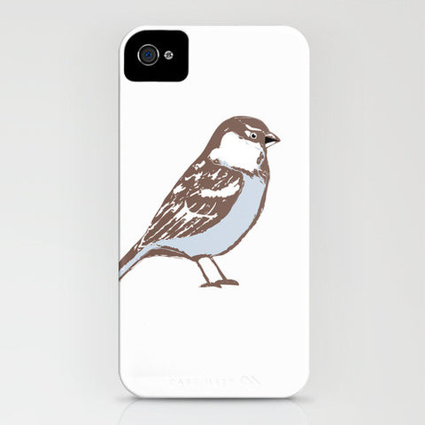 Sparrow Bird on Phone Case