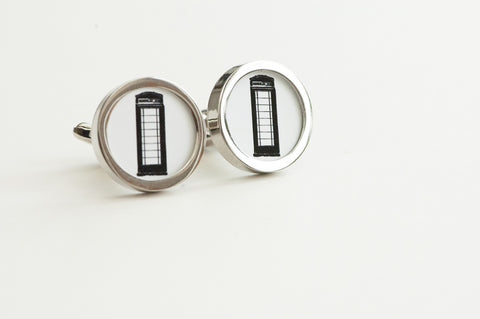Telephone Kiosk Cufflinks
