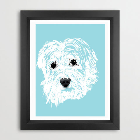 Tibetan Terrier Dog Art - Fine art print