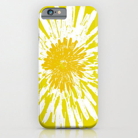 Yellow dandelion on your Phone Case